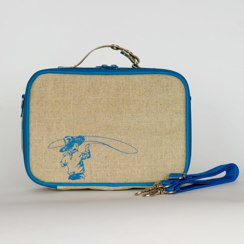cowboy lunch bag
