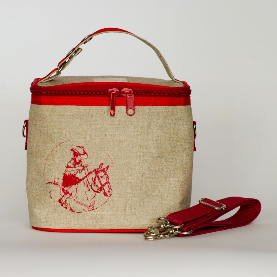 cowgirl lunch bag
